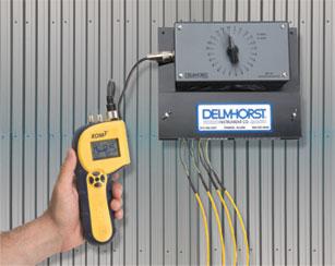 Delmhorst In-Kiln Monitoring / Kil-Mo-Trol System