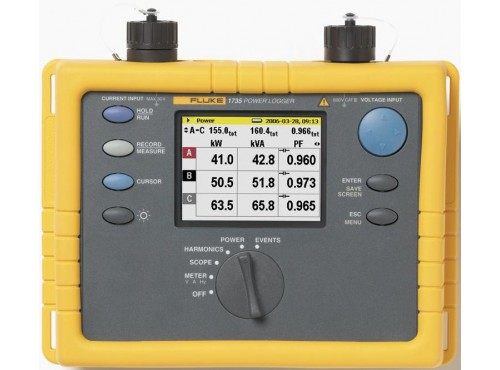 Fluke 1735 Three Phase Power Logger
