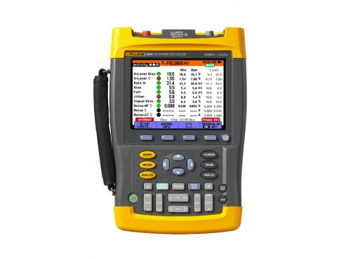Fluke 225C ScopeMeter with Bus Health Test