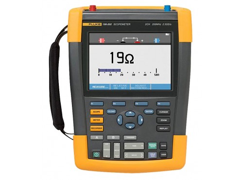 Fluke 190-102/AM ScopeMeter Series II 100Mhz 2 Channel Oscilloscope