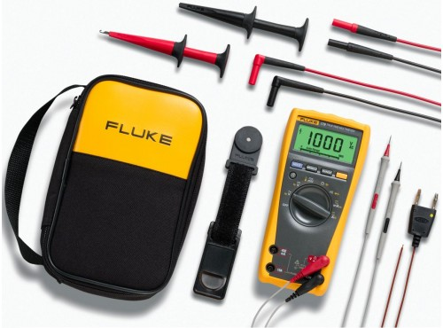 Fluke 179/EDA2 Electronic's Multimeter and Deluxe Accessory Combo Kit