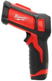 Milwaukee® Infrared Laser Thermometer, Temp-Gun