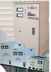SUN Series Automatic Voltage Regulator (AVR) 500VA – 50kVA