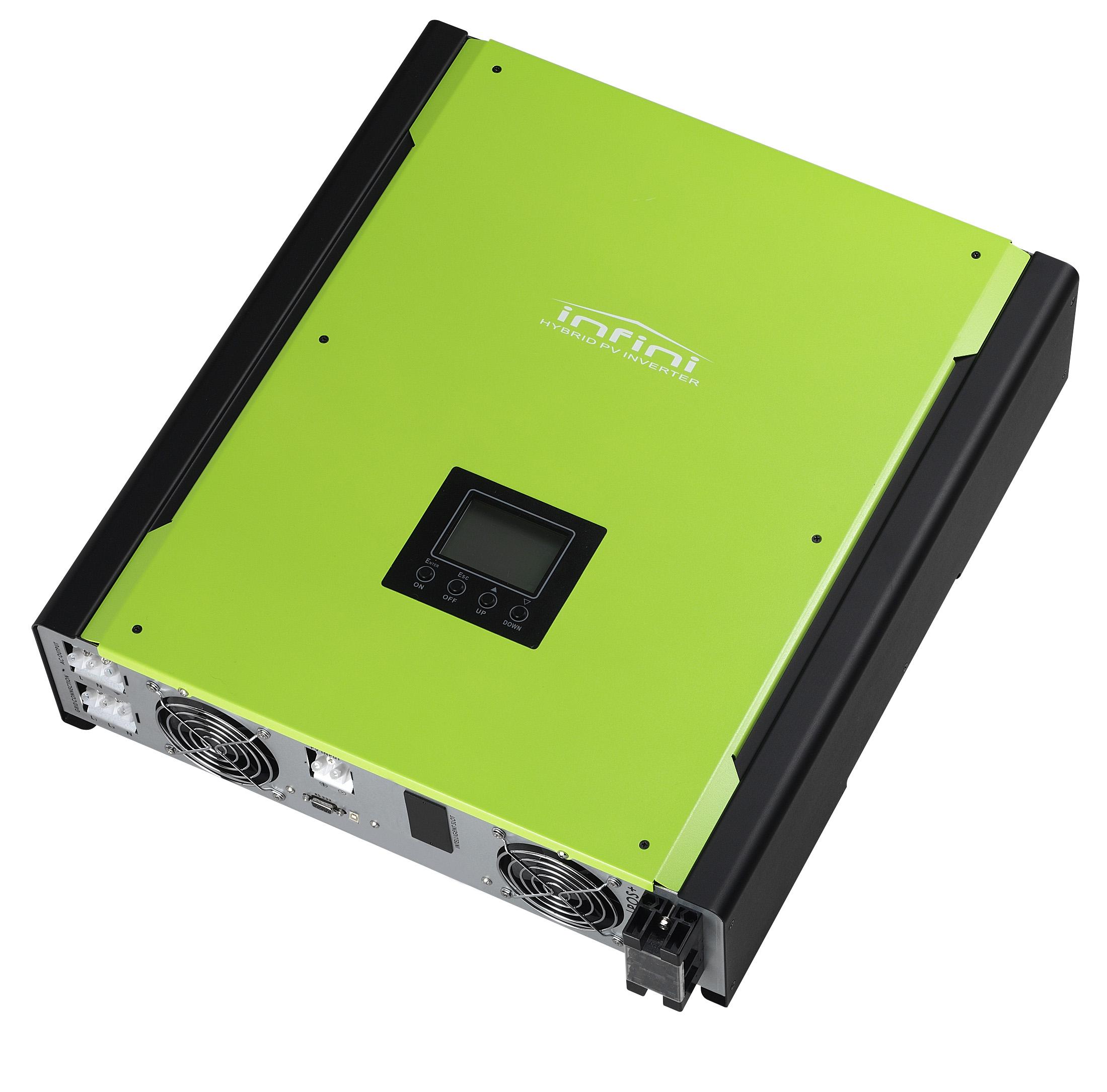 Omega 3, 5 and 10 KW On-grid Hybrid Solar Inverter